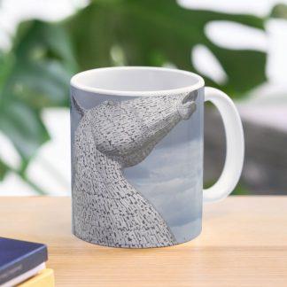 The Kelpies mugs , original image of the Kelpies